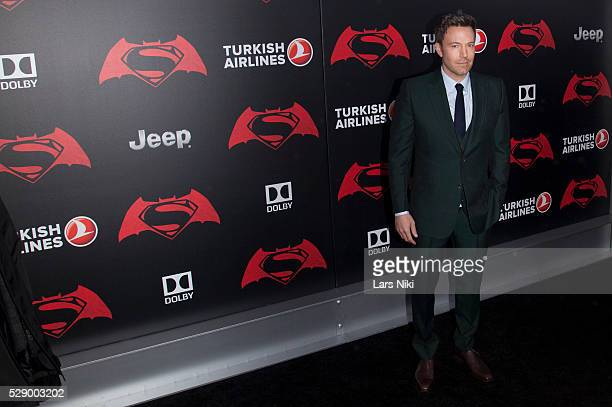 Ben Affleck attends the 'Batman V Superman Dawn Of Justice' New York Premiere at Radio City Music Hall in New York City �� LAN