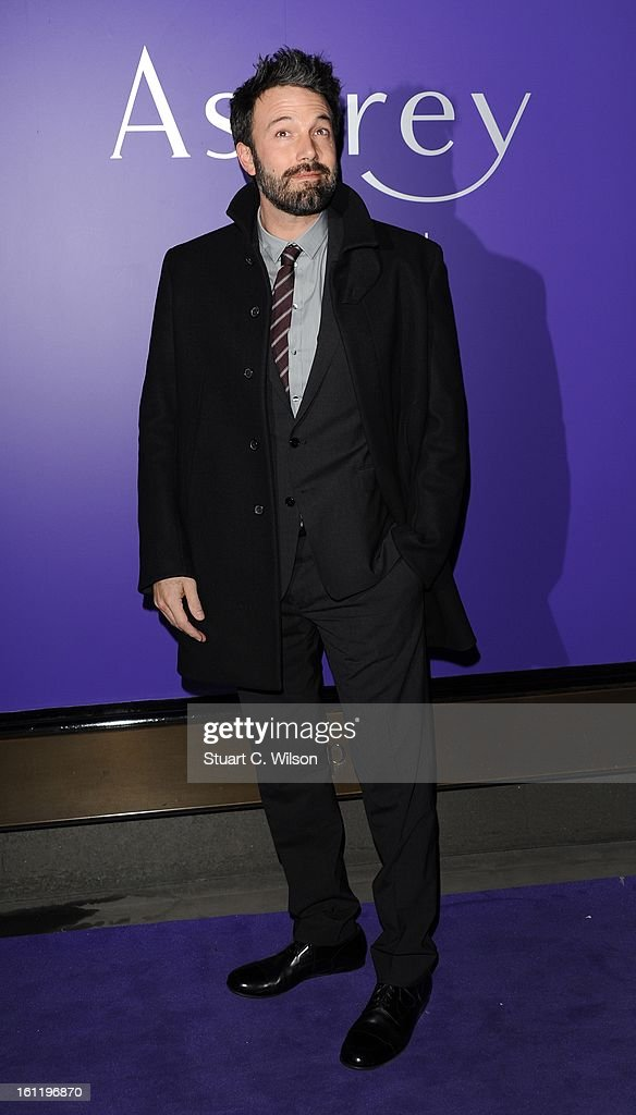 Ben Affleck attends the EE British Academy Film Awards nominees party at Asprey London on February 9, 2013 in London, England.