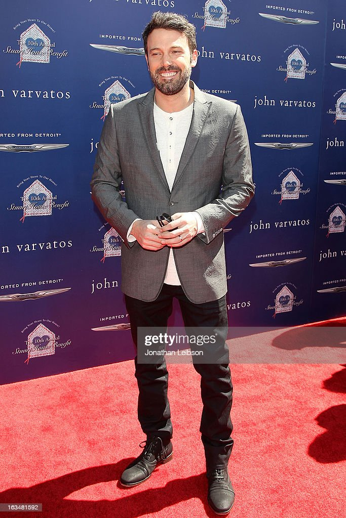 Ben Affleck attends the John Varvatos 10th Annual Stuart House Benefit at John Varvatos Los Angeles on March 10, 2013 in Los Angeles, California.