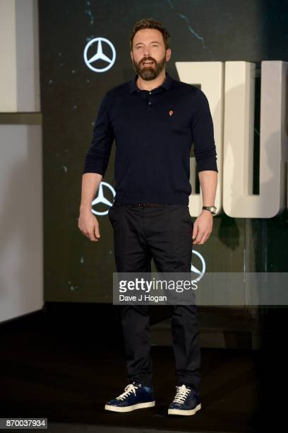 Ben Affleck attends the 'Justice League' photocall at The College on November 4 2017 in London England