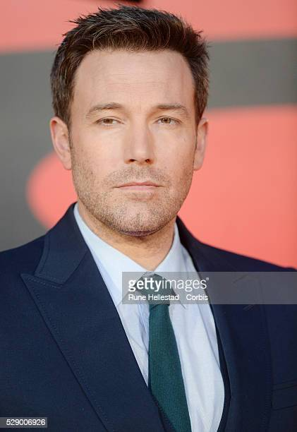 Ben Affleck attends the premiere of Batman v Superman Dawn Of Justice at Odeon Leicester Square