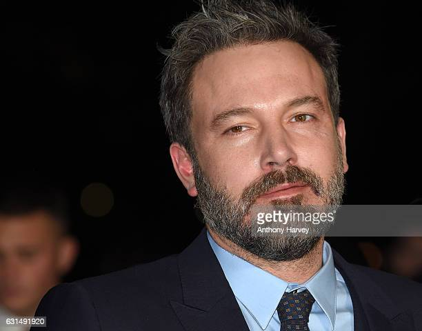 Ben Affleck attends the premiere of 'Live By Night' on January 11 2017 in London United Kingdom