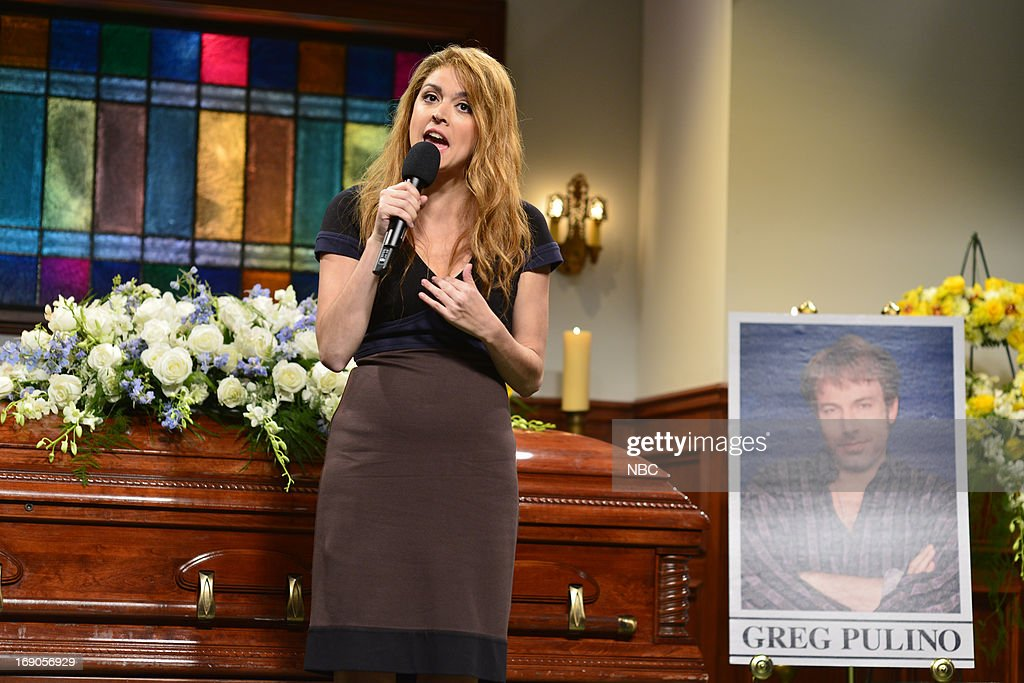 LIVE -- 'Ben Affleck' Episode 1641 -- Pictured: Cecily Strong during a skit on May 18, 2013 --