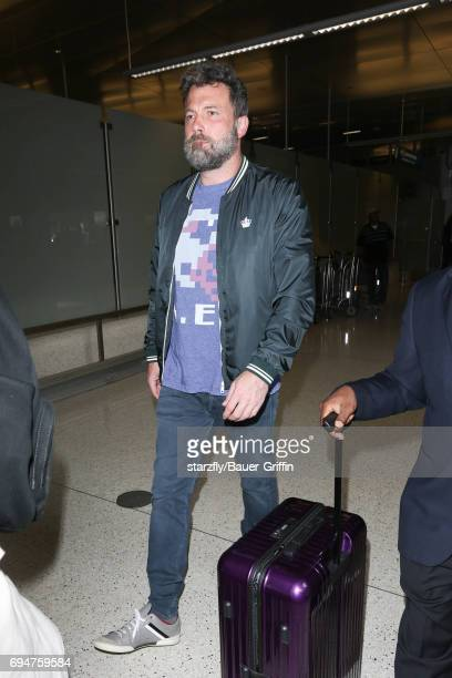 Ben Affleck is seen at LAX on June 10 2017 in Los Angeles California