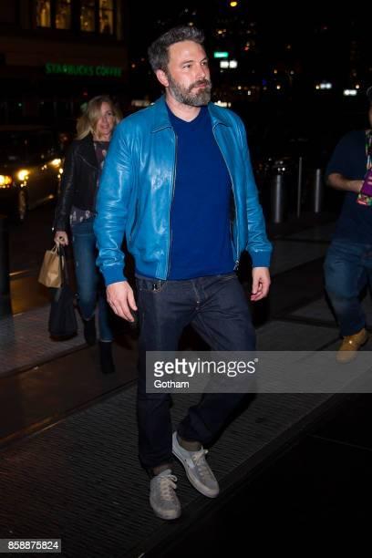 Ben Affleck is seen in Midtown on October 7 2017 in New York City