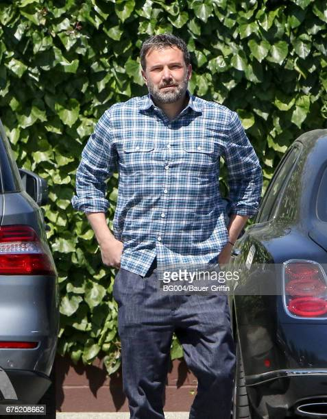 Ben Affleck is seen on April 30 2017 in Los Angeles California