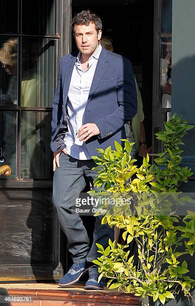 Ben Affleck is seen on January 23 2014 in Los Angeles California