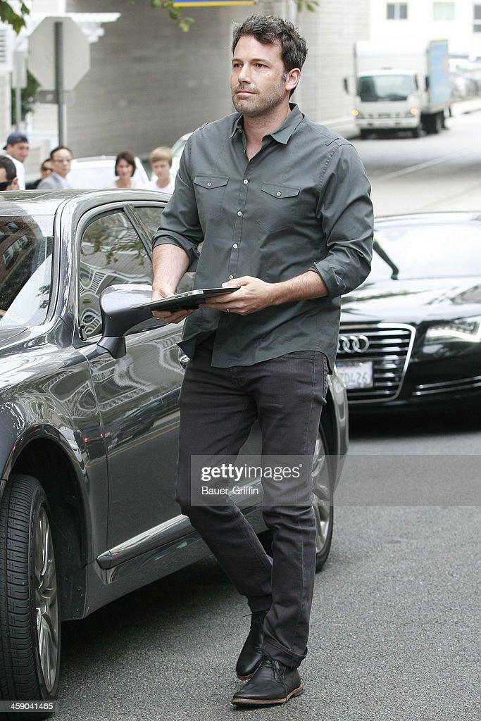 Ben Affleck is seen on July 21, 2013 in Los Angeles, California.
