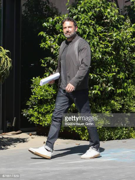 Ben Affleck is seen on May 01 2017 in Los Angeles California