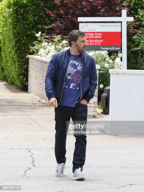 Ben Affleck is seen on May 07 2017 in Los Angeles California