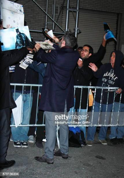 Ben Affleck is seen on November 16 2017 in New York City