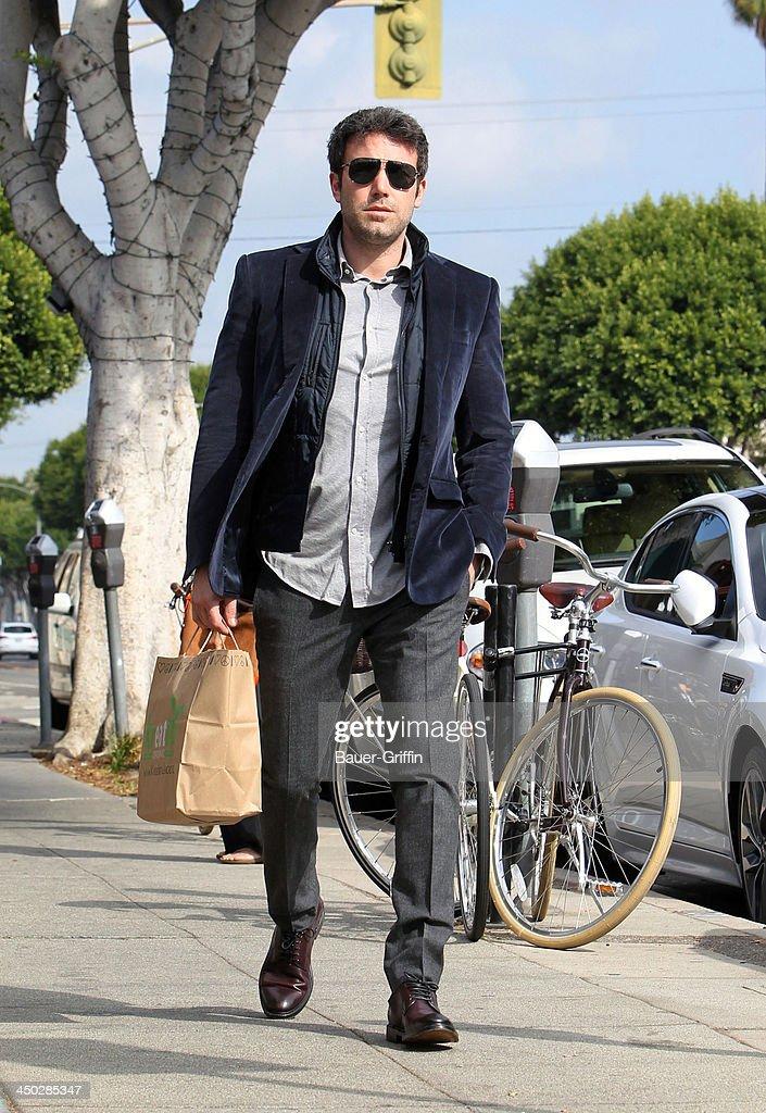 Ben Affleck is seen on November 17, 2013 in Los Angeles, California.