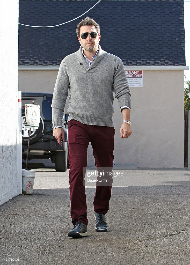 Ben Affleck is seen on November 24, 2013 in Los Angeles, California.