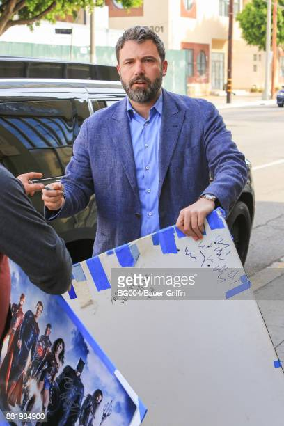 Ben Affleck is seen on November 29 2017 in Los Angeles California