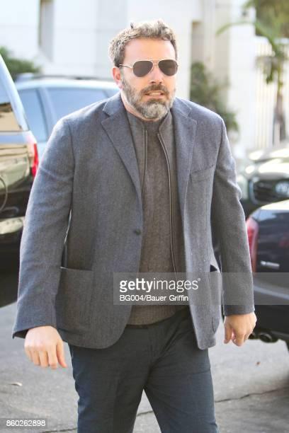 Ben Affleck is seen on October 11 2017 in Los Angeles California