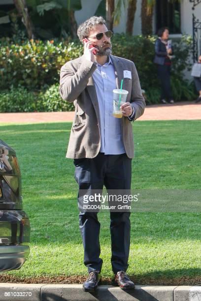 Ben Affleck is seen on October 13 2017 in Los Angeles California