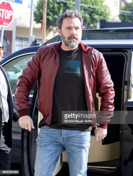 Ben Affleck is seen on October 19 2017 in Los Angeles California