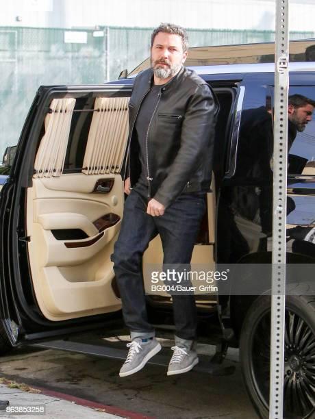 Ben Affleck is seen on October 20 2017 in Los Angeles California