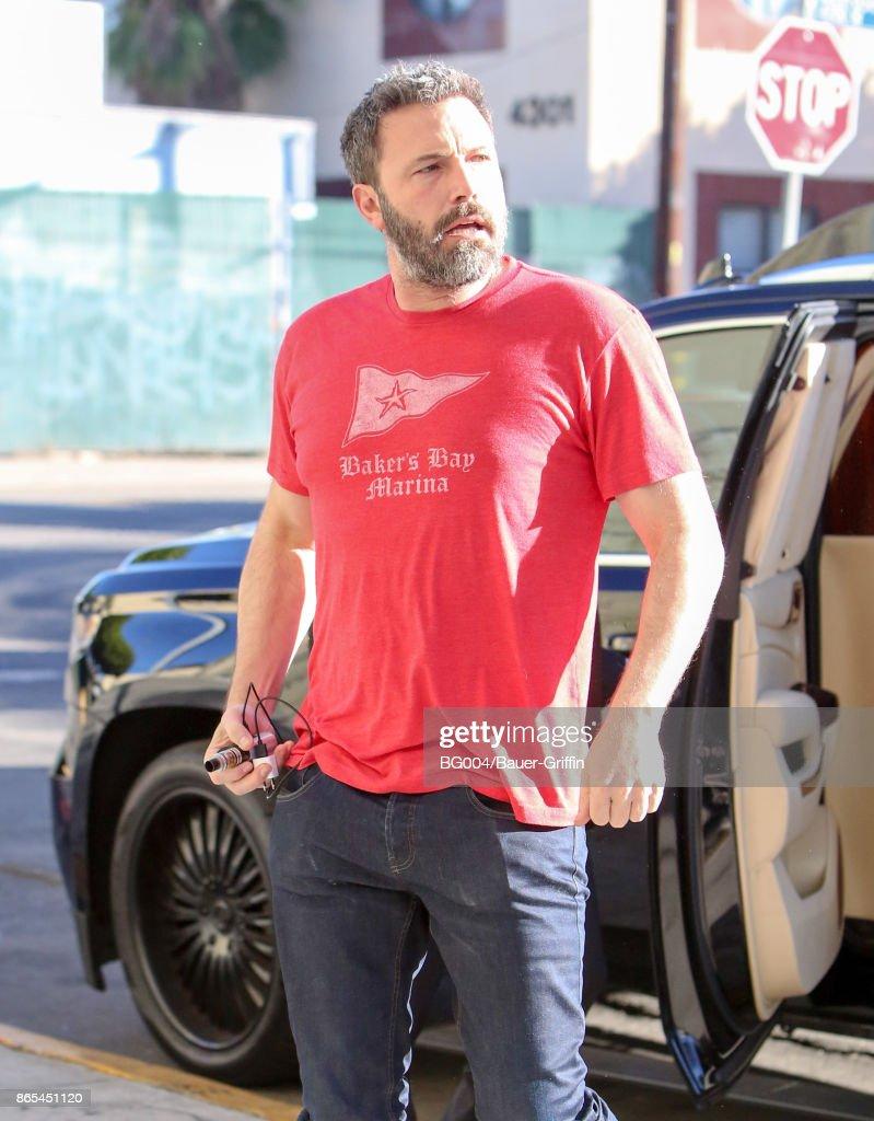 Celebrity Sightings In Los Angeles - October 23, 2017