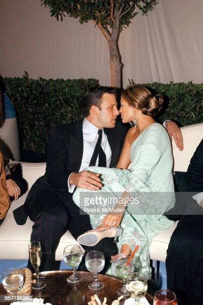 Ben Affleck Jennifer Lopez 'Vanity Fair' Oscars Party Morton's Beverly Hills CA March 23 2003
