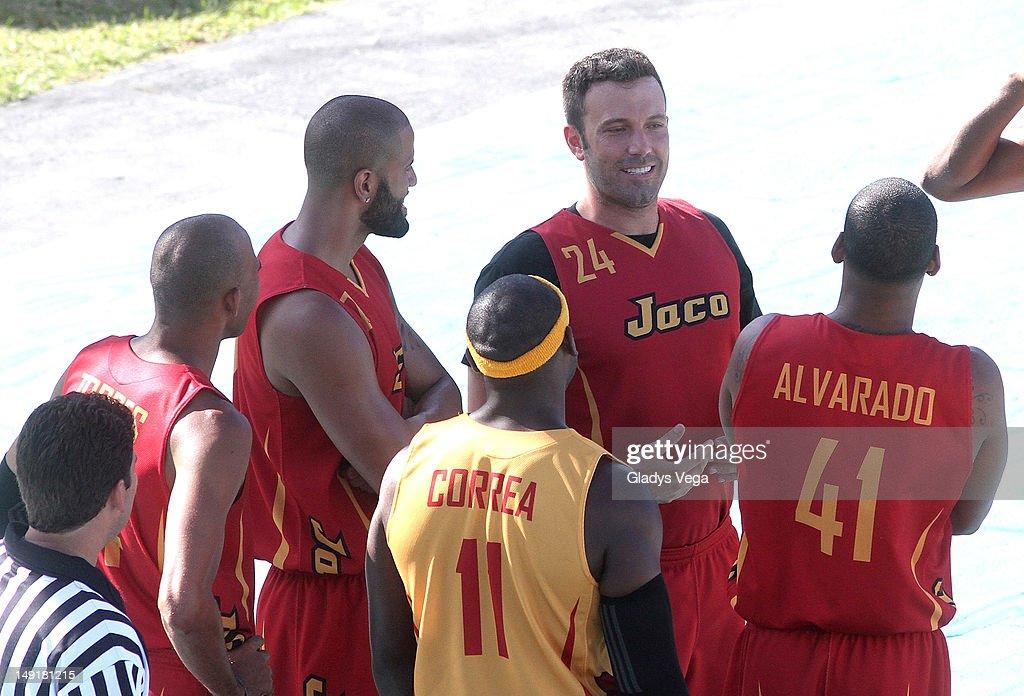 Ben Affleck sighting on the set of 'Runner Runner' at La Perla on July 23 in San Juan Puerto Rico