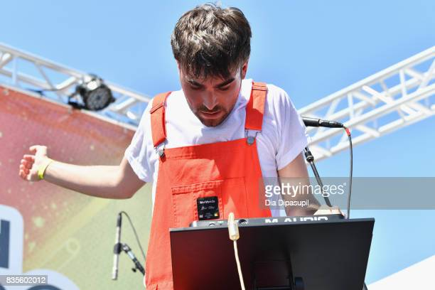 Ben Alessi performs during Day One of 2017 Billboard Hot 100 Festival at Northwell Health at Jones Beach Theater on August 19 2017 in Wantagh City