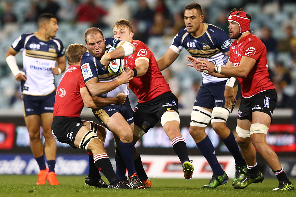 Super Rugby Rd 12 - Brumbies v Lions : News Photo
