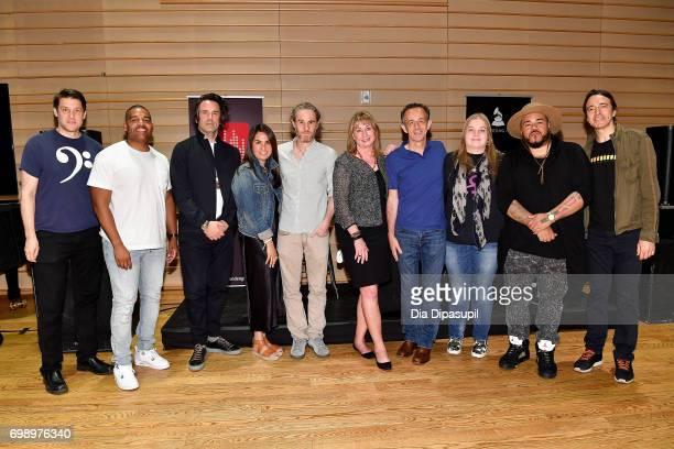 Ben Allison Ken 'Duro' Ifill Tom Elmhirst Emily Lazar Scott Jacoby Maureen Droney Kevin Killen Ann Mincieli Erik 'Rook' Ortiz and Joe Mardin attend...