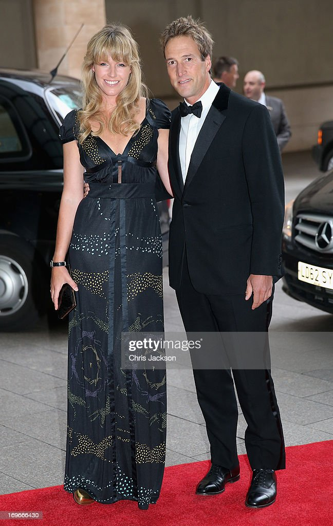 Ben and Marina Fogle attend the Walking With The Wounded Crystal Ball Gala Dinner at The Grosvenor House Hotel on May 30, 2013 in London, England.