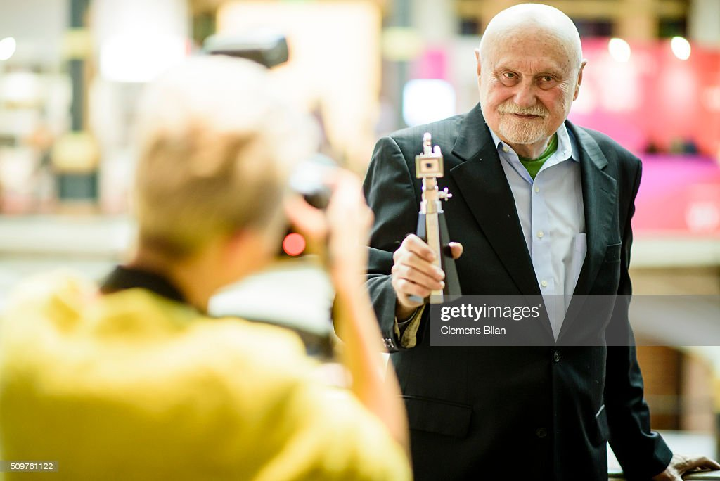 Ben Barenholtz attends a photocall after his award ceremony during the 66th Berlinale International Film Festival Berlin at Martin Gropius Bau on February 12, 2016 in Berlin, Germany.