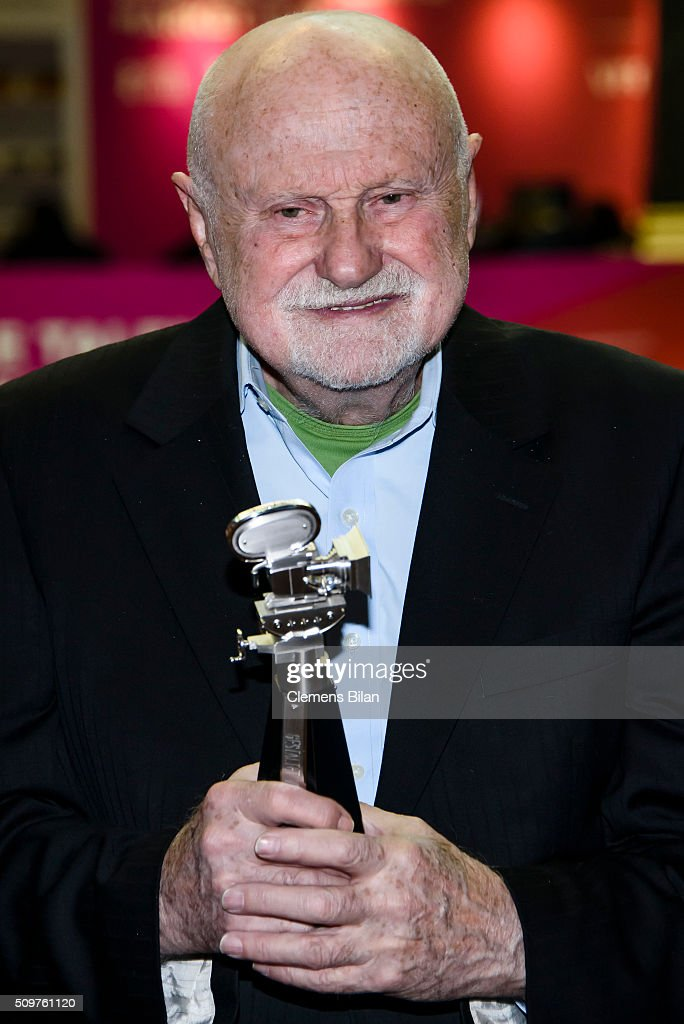 Ben Barenholtz attends a photocall during his award ceremony at the 66th Berlinale International Film Festival Berlin at Martin Gropius Bau on February 12, 2016 in Berlin, Germany.