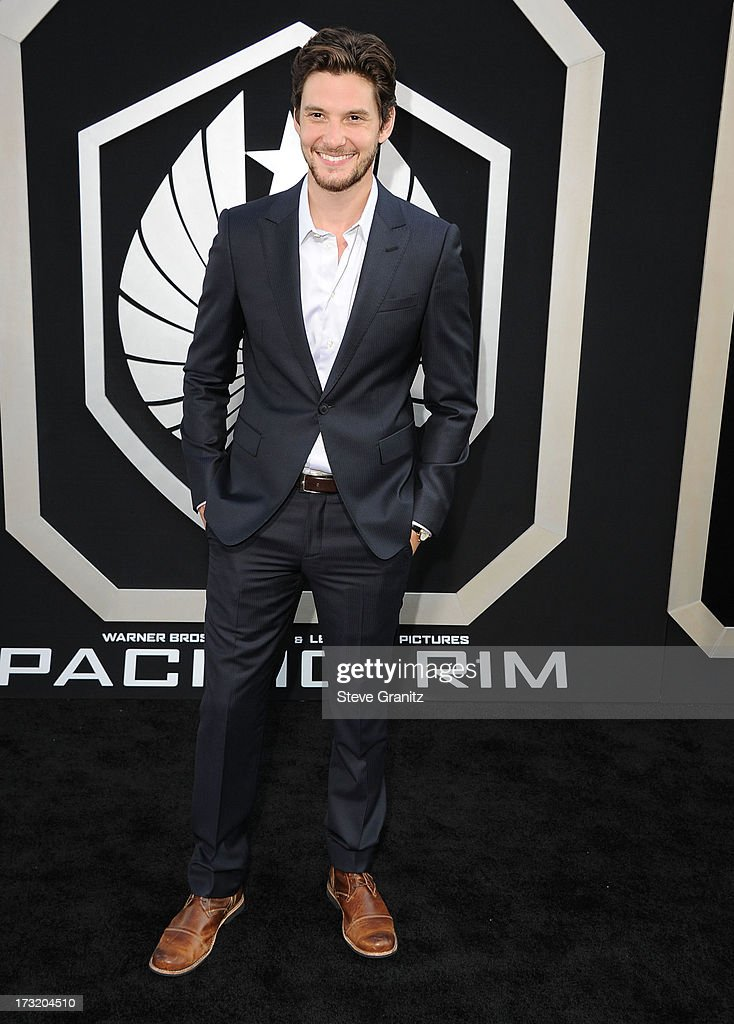 Ben Barnes arrives at the 'Pacific Rim' - Los Angeles Premiere at Dolby Theatre on July 9, 2013 in Hollywood, California.