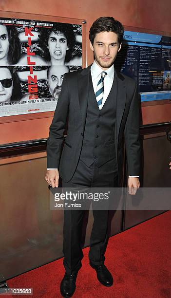 Ben Barnes attends the UK premiere of 'Killing Bono' at Apollo West End Cinema on March 28 2011 in London England