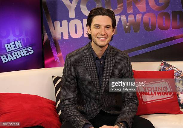 Ben Barnes visits the Young Hollywood Studio on February 3 2015 in Los Angeles California