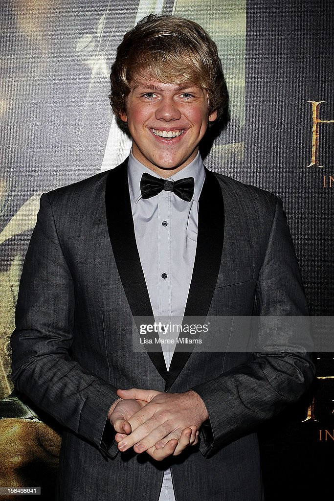 Ben Bennett attends the Sydney premiere of 'The Hobbit: An Unexpected Journey' at George Street V-Max Cinemas on December 18, 2012 in Sydney, Australia.