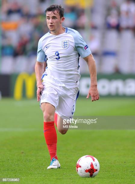 Ben Chilwell during the UEFA European Under21 match between Sweden and England at Kolporter Arena on June 16 2017 in Kielce Poland