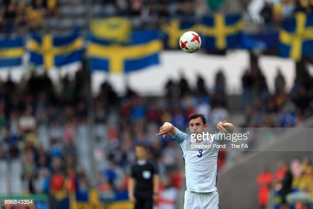 Ben Chilwell of England during the 2017 UEFA European Under21 Championship match between Sweden and England at Arena Kielce on June 16 2017 in Kielce...