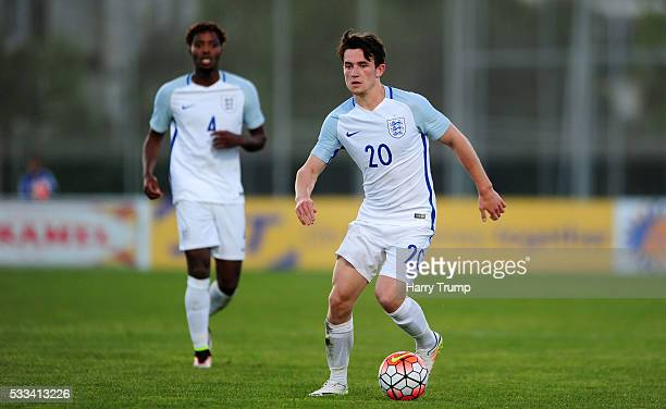 Ben Chilwell of England during the Toulon Tournament match between England and Portugal at Stadium Leo Lagrange on May 19 2016 in Toulon France