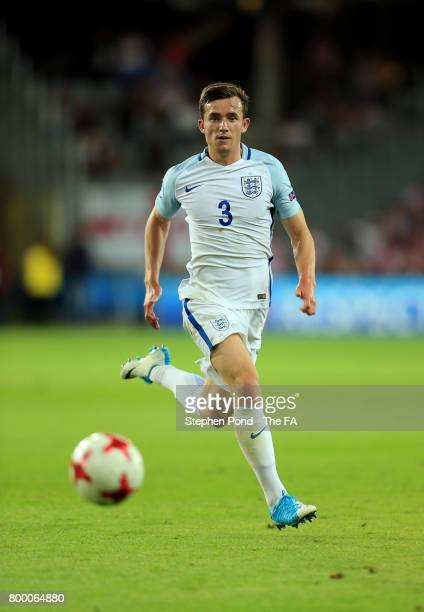 Ben Chilwell of England during the UEFA European Under21 Championship Group A match between England and Poland at Kielce Stadium on June 22 2017 in...