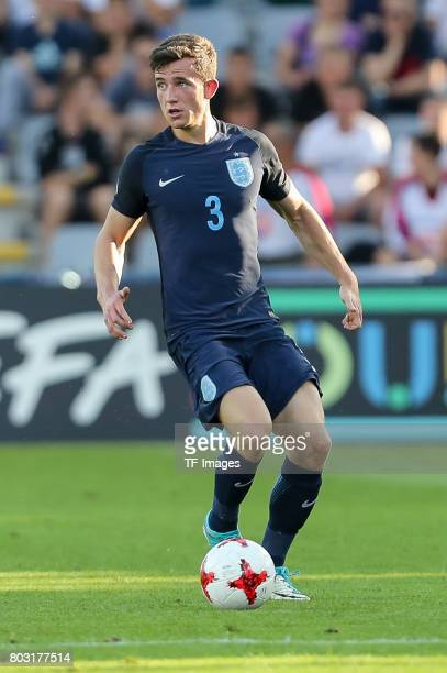 Ben Chilwell of England in action during the 2017 UEFA European Under21 Championship match between Slovakia and England on June 19 2017 in Kielce...