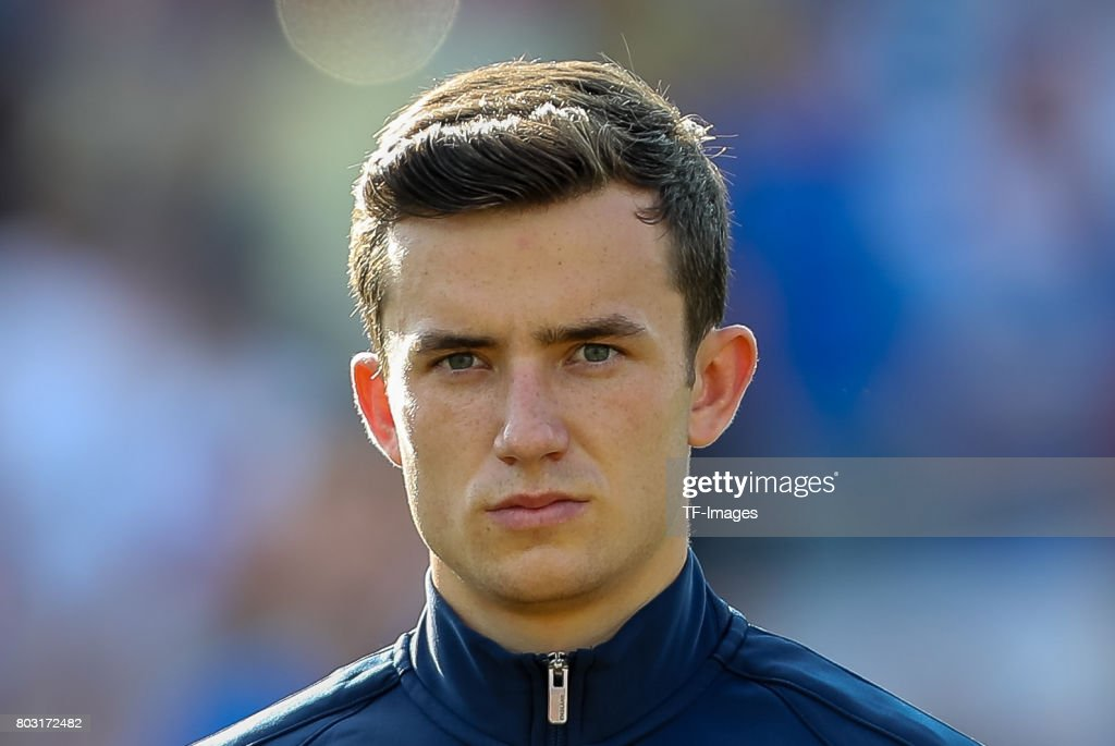 Ben Chilwell of England looks on during the 2017 UEFA European Under-21 Championship match between Slovakia and England on June 19, 2017 in Kielce, Poland.
