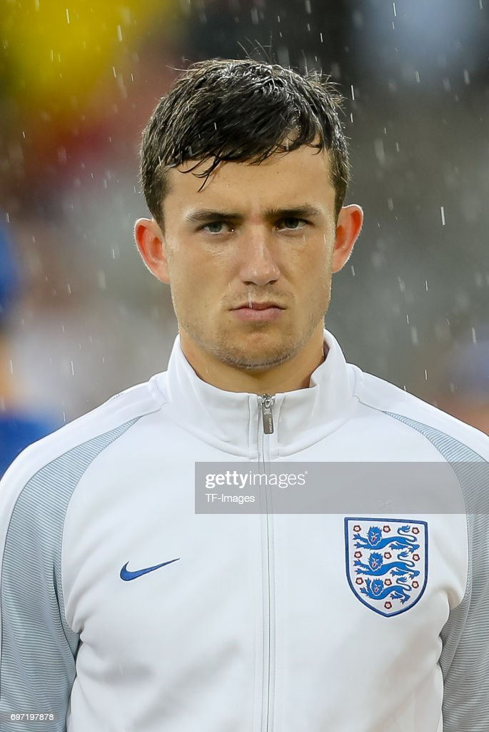 Ben Chilwell of England looks on during the UEFA European Under-21 Championship match between Sweden and England at Arena Kielce on June 16, 2017 in Kielce, Poland.