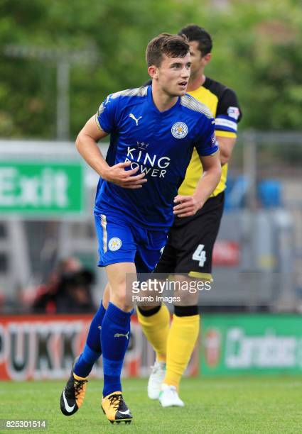 Ben Chilwell of Leicester City during the pre season friendly between Burton Albion and Leicester City at Pirelli Stadium on August 1st 2017 in...