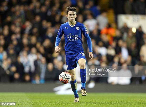 Ben Chilwell of Leicester City in action during the FA Cup third round match between Tottenham Hotspur and Leicester City at White Hart Lane on...