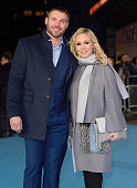Ben Cohen and Kristina Rihanoff arrive for the European premiere of 'Eddie The Eagle' at Odeon Leicester Square on March 17 2016 in London England