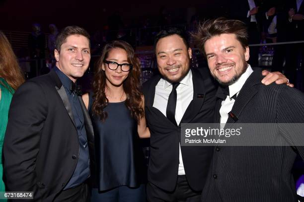 Ben Cotner guest David Chang and Bjarke Ingels attend the 2017 TIME 100 Gala at Jazz at Lincoln Center on April 25 2017 in New York City