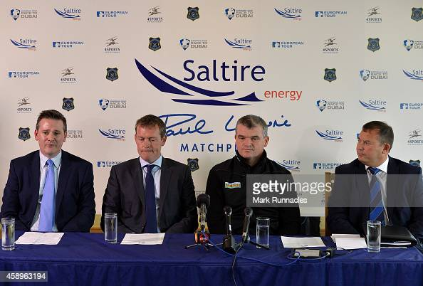 Ben Cowen Deputy Director of international policy for the European Tour Marcus Day Head of Global Golf Division of 4 Sports and entertainment Paul...