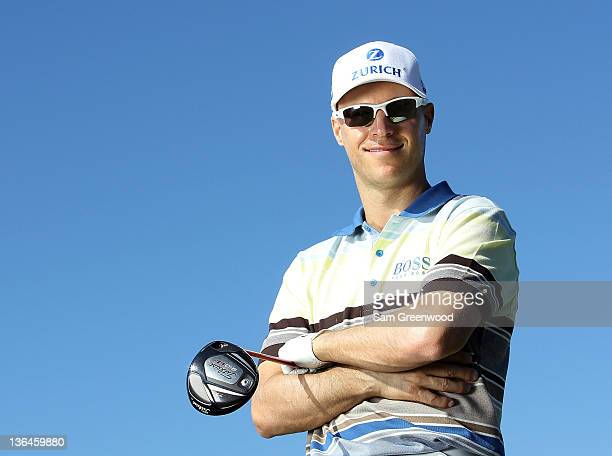 Ben Crane poses for a portrait during the proam round of the Hyundai Tournament of Champions at the Plantation course on January 5 2012 in Kapalua...