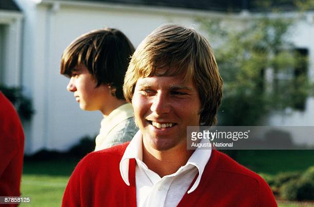 Ben Crenshaw during the 1973 Masters Tournament at Augusta National Golf Club in April 1973 in Augusta Georgia