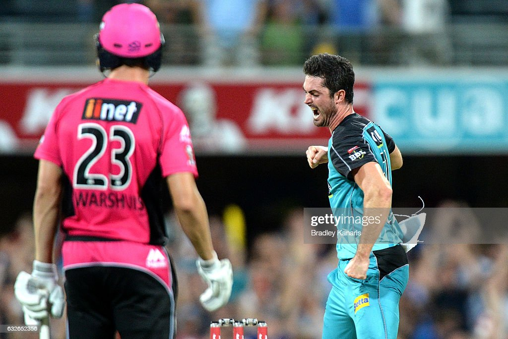 Big Bash League - Semi Final: Heat v Sixers